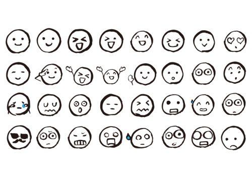 個性、表情、若さ、喜怒哀楽