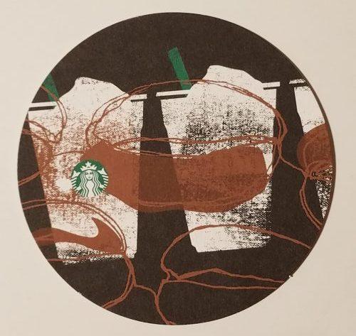 スターバックスコーヒー、スタバ、コースター