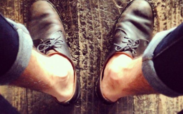 革靴、シューフィッター