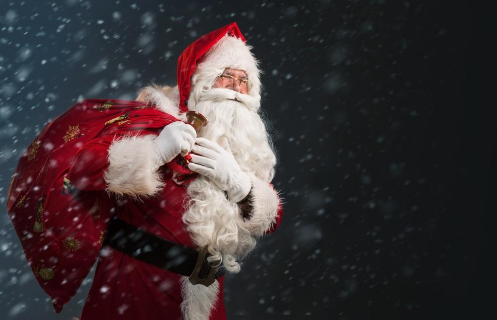 サンタ、サンタクロース、クリスマス、クリスマスオーナメント