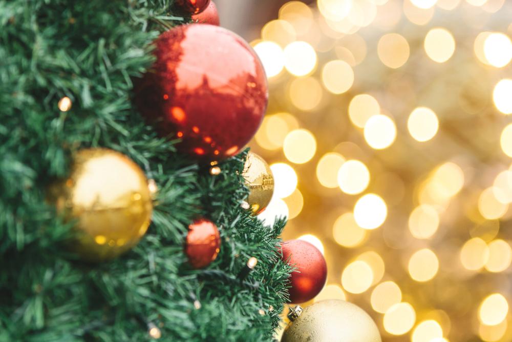 クリスマス、サンタ、クリスマスツリー、クリスマスオーナメント
