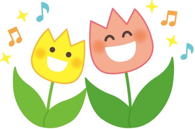 チューリップ、花、音楽、music、音楽のチカラ