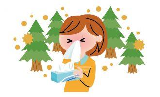 花粉症、くしゃみ、鼻水、花粉対策