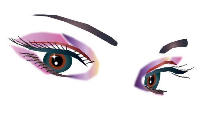 アイケア、瞳、メイク、目薬