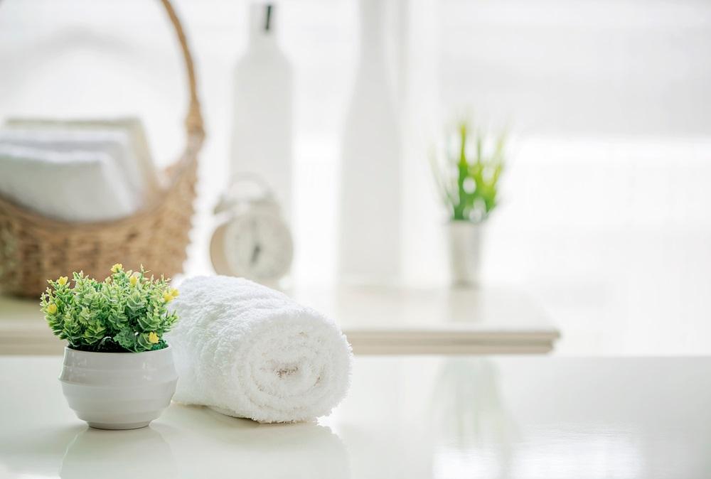 タオル、清潔なタオル、タオルの共用は避けましょう