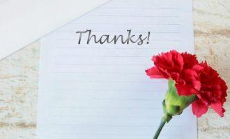 カーネーション、手紙、ありがとう、THANK