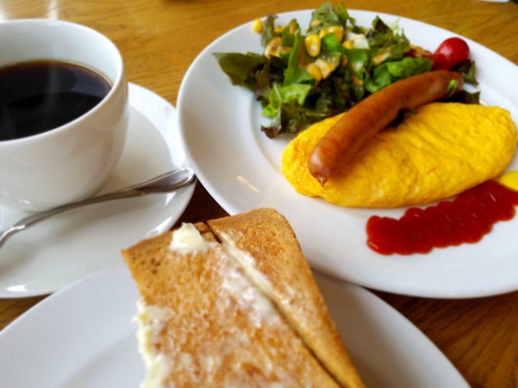 コーヒー、カフェルパン、大府市のモーニング、大府市の喫茶店、モーニングコーヒー、美味しいコーヒー、珈琲、ルパンモーニングセット