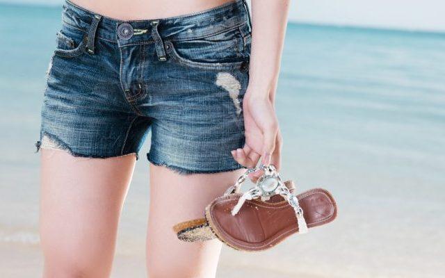 夏、海、お出かけ、ダイエット効果、くびれ