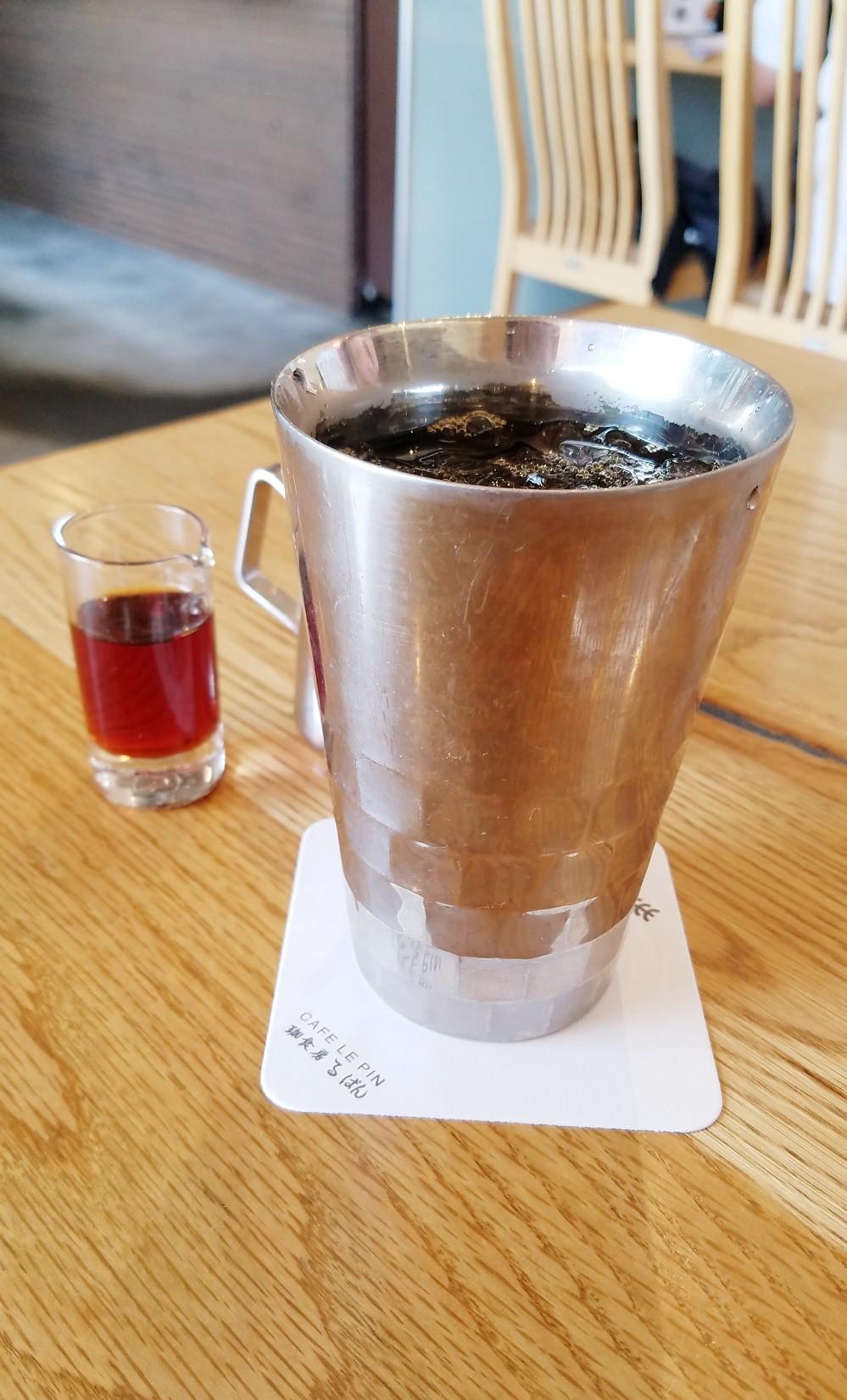 カフェルパン、ドリンクセット、CAFE LE PIN、カフェ・ルパン