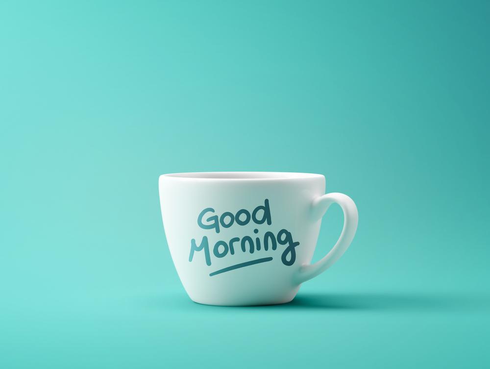 おはよう、挨拶、good morning