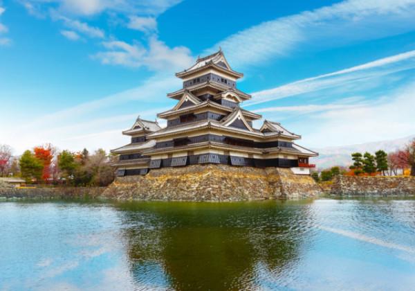 信州、信州松本、松本市、なわて通り商店街、松本駅、松本城