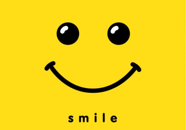 スマイル、笑顔、smile、笑顔の挨拶