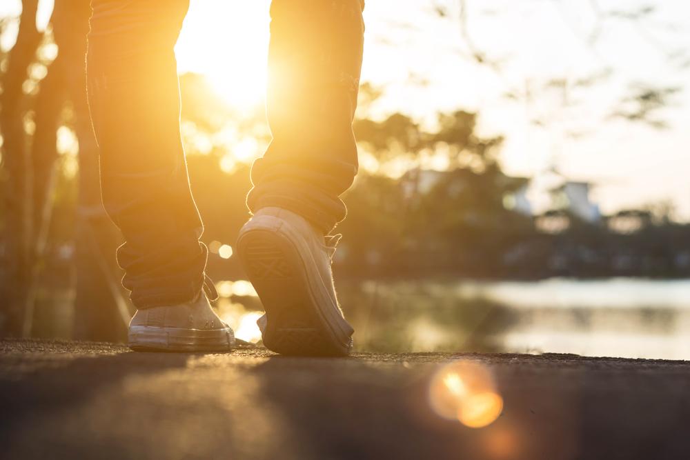 歩く、立ち去る、歩行、散歩、ウォーキング