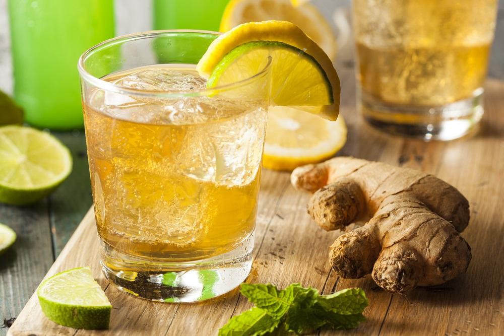 ジンジャエール、しょうがと炭酸水、生姜、しょうがドリンク、しょうがで風邪対策