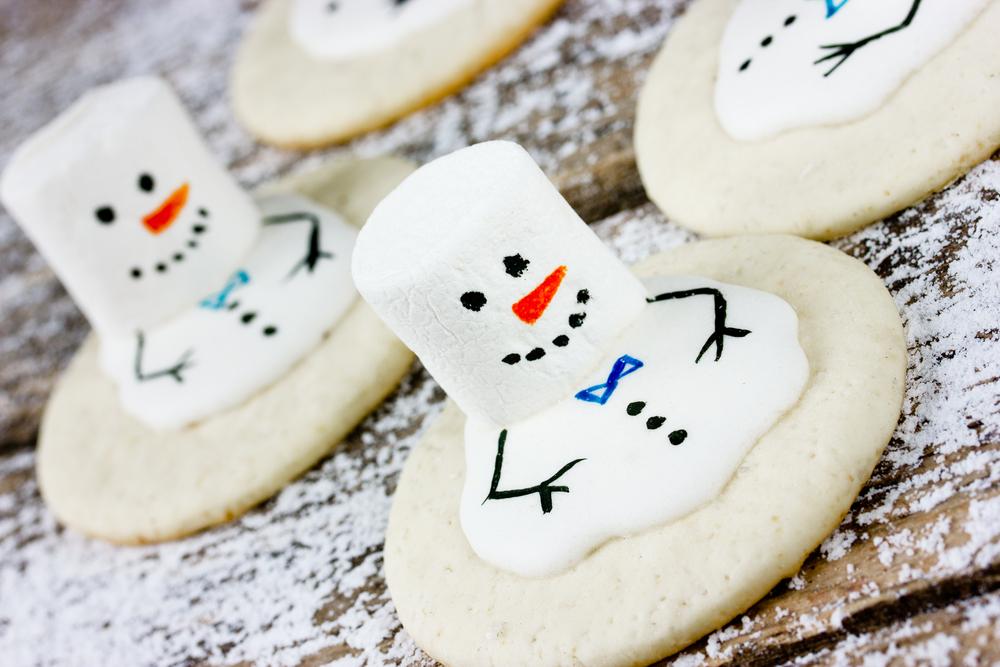 冬レシピ、recipe、クリスマス、スノー、雪だるま