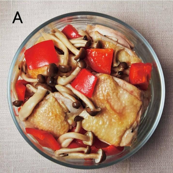 作りおきレシピ、低糖質おかず、鶏の蒸し焼き