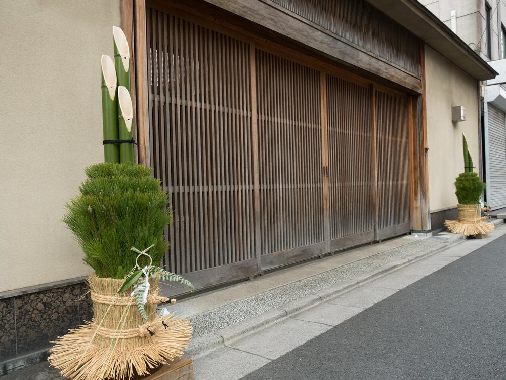 門松、正月飾り、お正月