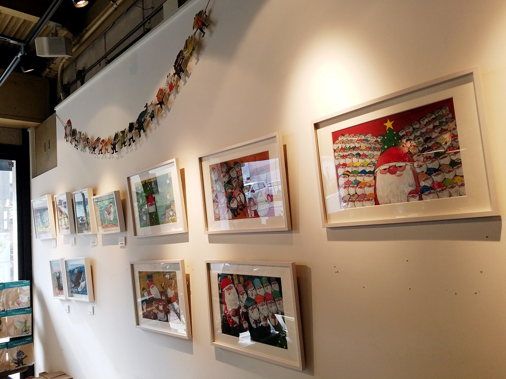 gallery&cafe Zoologique、ズーロジックカフェ、ZOOLOGIQUE、谷口智則、絵本作家のカフェ
