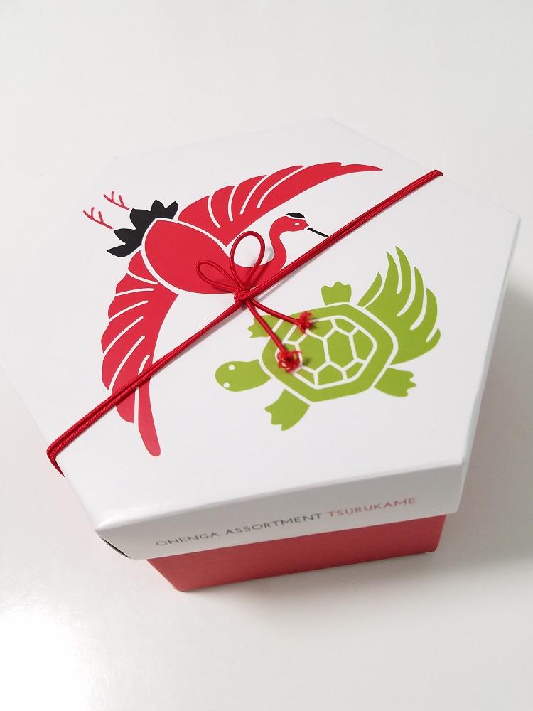 R.L、エールエル、お年賀アソート、ワッフルケーキの店、鶴亀