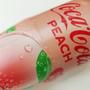 コカ・コーラピーチ、コカコーラ、Coca-Cola、期間限定