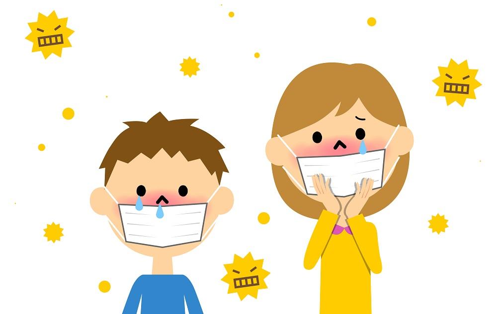 花粉症、スギ花粉、アレルギー、花粉症対策