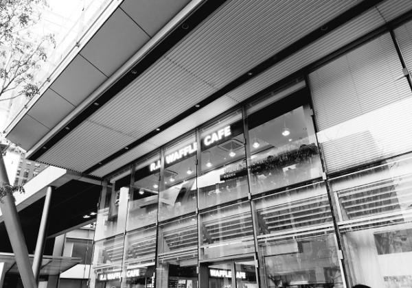 エール・エル、ワッフルケーキのお店、東京駅のカフェ、グランルーフ