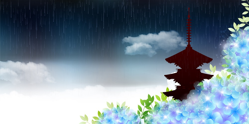 梅雨、梅雨時期、梅雨明け、梅雨入り
