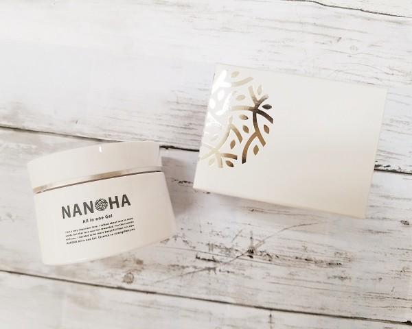 NANOHA、オールインワンジェル、NANOHAオールインワンジェル、ヒト幹細胞培養液エキス