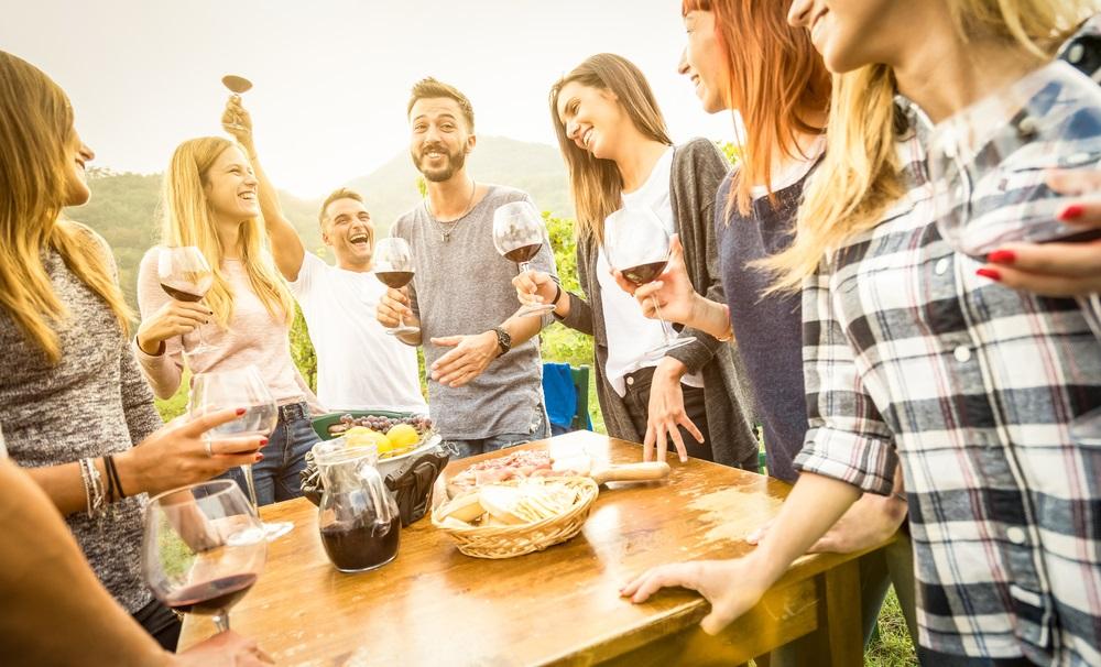 地中海式ダイエット、食事とワイン、地中海式ダイエットとワイン