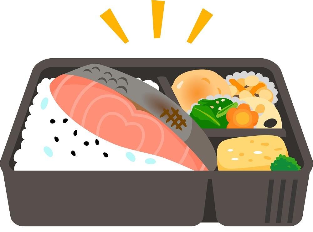お弁当、コンビニのお弁当、しゃけ、鮭、鮭弁