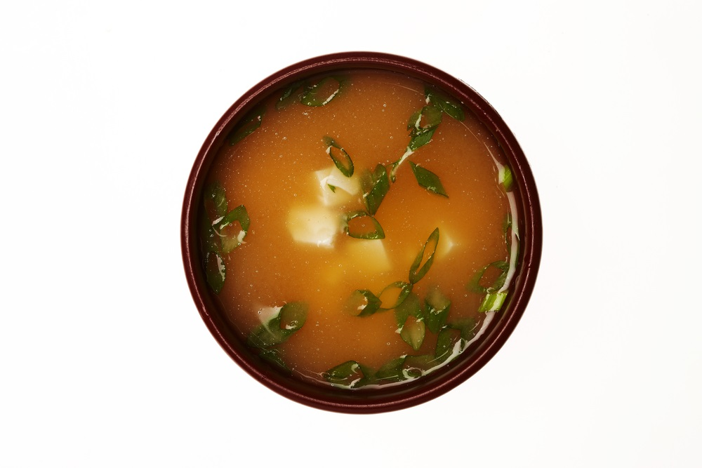 お味噌汁、モビコールをお味噌汁に、モビコールは味噌汁と相性が良い