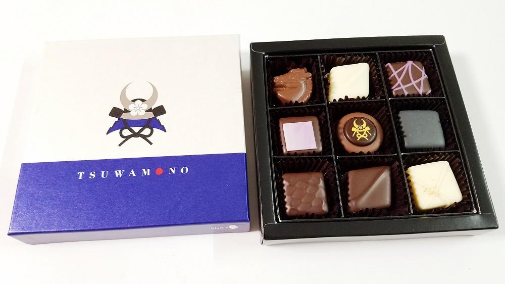 明智光秀、バレンタインデー、歴女、バレンタインチョコ、メリーチョコレート、TSUWAMONO、つわもの