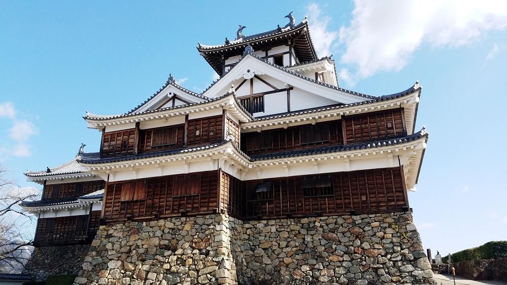 麒麟がくる、明智光秀ゆかりの地、初代城主明智光秀、京都福知山市、福知山市、福知山城、天守閣