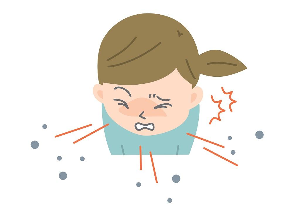 咳エチケットとは、咳エチケットしないひと、咳エチケット、咳エチケットとマスク、新型コロナウイルスとインフルエンザをマスクで予防